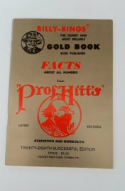 Billy-Bings Gold Book FACTS ABOUT ALL NUMBERS