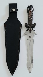 """Pearl Dagger 16""""- Decorative Athame for Ritual and Collection"""