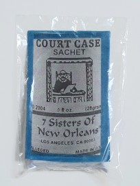 7 Sisters Of New Orleans Sachet Powder / Court Case