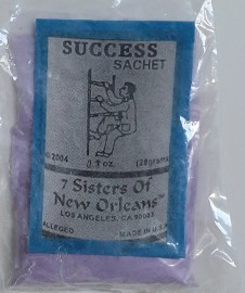 7 Sisters Of New Orleans Sachet /  Powder Success