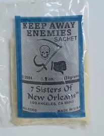7 Sisters Of New Orleans Sachet Powder / Keep Away Enemies