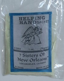 7 Sisters Of New Orleans Sachet Powder / Helping Hand