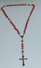 Birth Flowers Rosary / July - Crape Myrtle