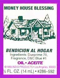MONEY HOUSE BLESSING
