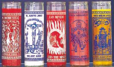 7 Day Cermonial Candles in Glass