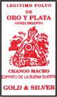 GOLD & SILVER CHANGO MACHO / SPIRIT OF GOOD LUCK