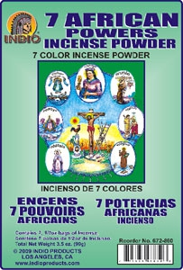 Powder Incense in Envelopes