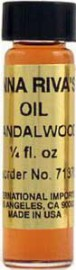 SANDALWOOD Anna Riva Oil qtr oz