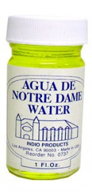INDIO BLESSED WATER- NOTRE DAME
