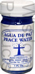 INDIO BLESSED WATER- PEACE