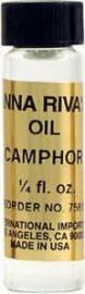 CAMPHOR Anna Riva Oil qtr oz