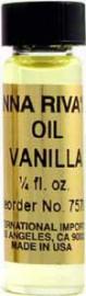 VANILLA Anna Riva Oil qtr oz