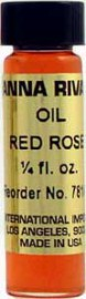 RED ROSE Anna Riva Oil qtr oz