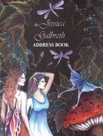 Address Book: Enchanted Art by Jessica Galbreth