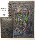 Dragon/ Castle sketchbook