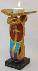 Egyptian Cobra Tealight Holder
