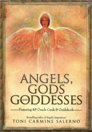 Angels, Gods, and Goddesses Oracle (deck and book) by Toni Carmine Salerno