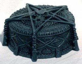 Baphomet Pentagram Box