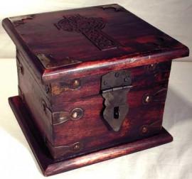 Celtic Cross and Pentagram Box