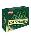 Cannabis HEM cone 10 pack