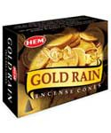 Gold Rain HEM cone 10 pack