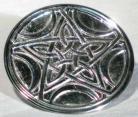 Celtic Pentagram With Crescent Moons Altar Tile