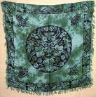Greenman Altar/Tarot Cloth