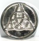Metal Triquetra Altar Tile