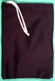 Black Cotton Bag (2