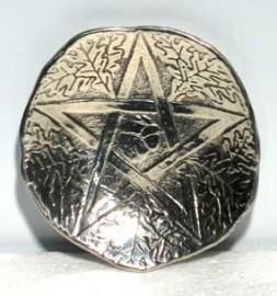 Pewter Penta Oak Ritual Bowl
