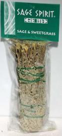 Sage & Sweetgrass Smudge Stick 7