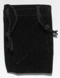 Black Velveteen Bag   (2