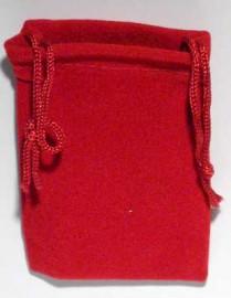 Red Velveteen Bag  (2