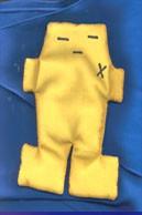 Yellow Voodoo Doll  (5