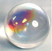 Aurora Crystal Ball (100mm) 4 inches in Diameter