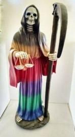 "Holy Death-Santisima Muerte Statue 28"" Tall/7 colors"