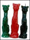 7.5 INCH RITUAL IMAGE CAT CANDLE