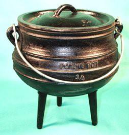 Cast Iron Cauldron, Size 3/4