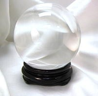 6 in round Crystal Ball (150mm) - Clear