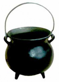 Plain Cast Iron Potbelly